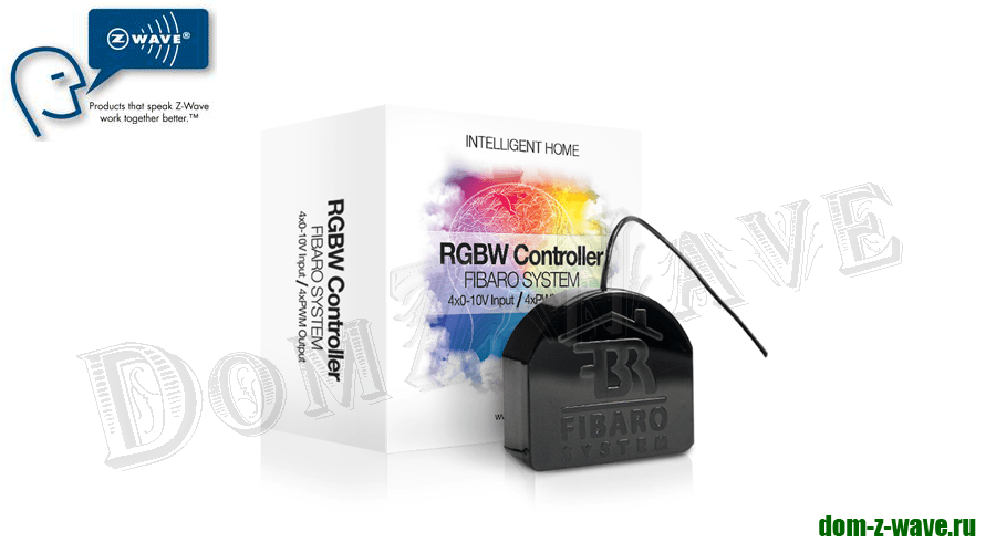 Контроллер Fibaro RGBW Controller FIB_FGRGB-101